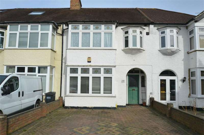 3 Bedrooms Terraced House for sale in Shirley Road, Shirley Park, Croydon, Surrey