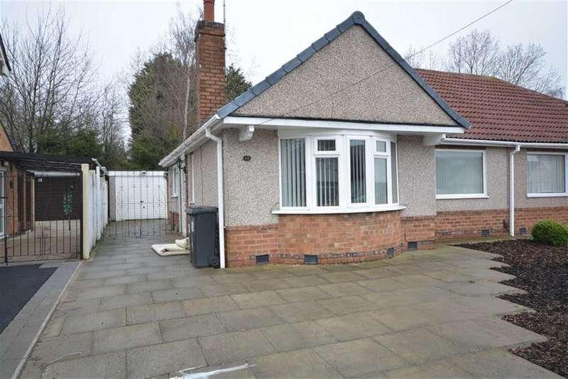 2 Bedrooms Semi Detached Bungalow for rent in Kingsley Crescent, Bulkington