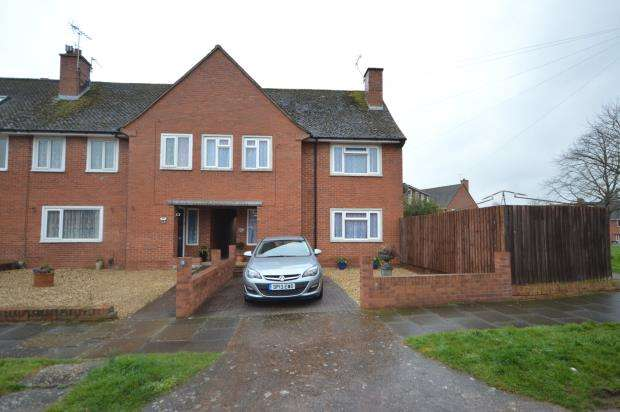 3 Bedrooms End Of Terrace House for sale in Newport Road, Exeter, Devon