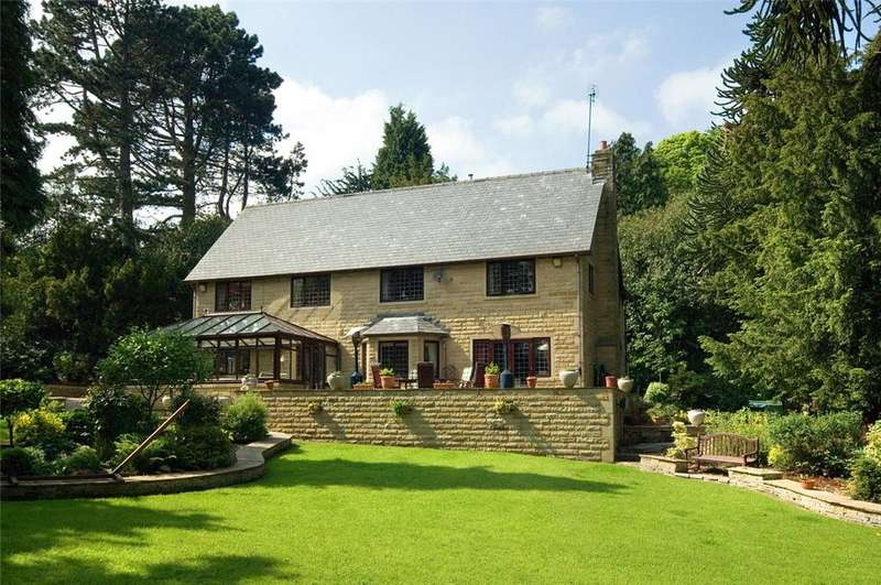 5 Bedrooms Detached House for sale in Woodside, Highfield Lane, Oakworth, Near Keighley, BD22