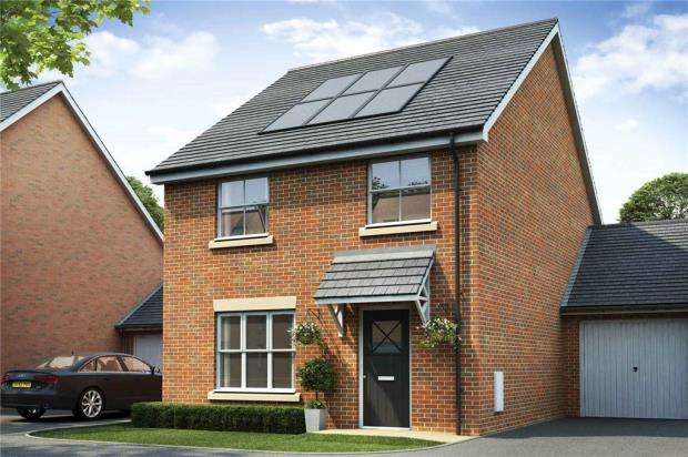 4 Bedrooms Semi Detached House for sale in The Woodlands, Sandy Lane, Church Crookham
