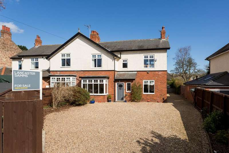 5 Bedrooms Semi Detached House for sale in Wetherby Road, York, YO26