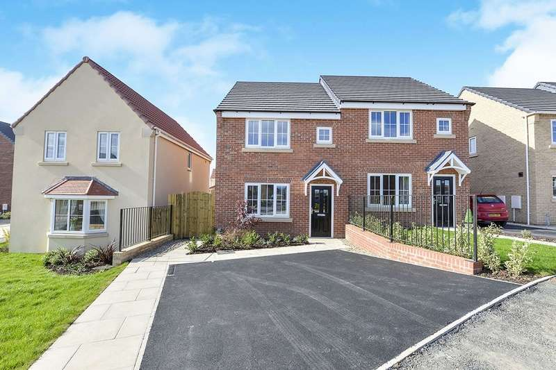3 Bedrooms Semi Detached House for rent in Sandstone Road, Eastfield, Scarborough, YO11