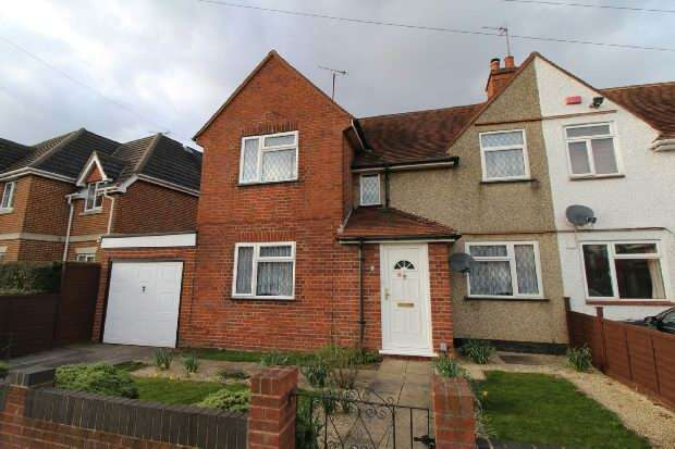 3 Bedrooms End Of Terrace House for sale in Whitley Wood Road, Reading