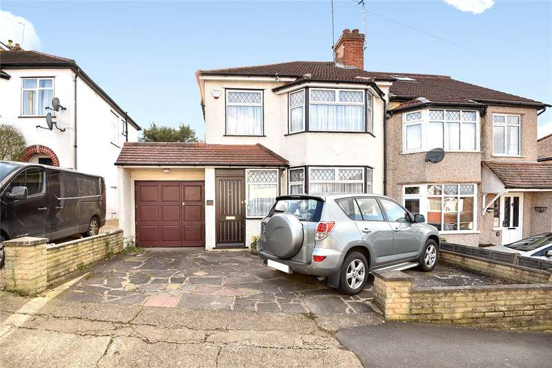 3 Bedrooms Semi Detached House for sale in Orchard Close, Ruislip, Middlesex, HA4