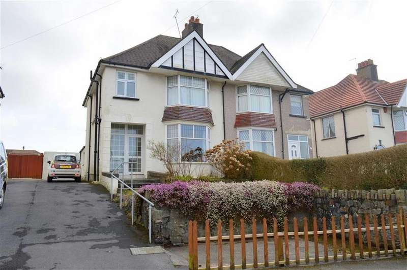 3 Bedrooms Semi Detached House for sale in Gower Road, Killay, Swansea