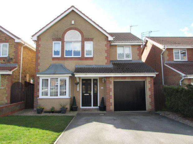 4 Bedrooms Detached House for sale in THISTLE CLOSE, SPENNYMOOR, SPENNYMOOR DISTRICT