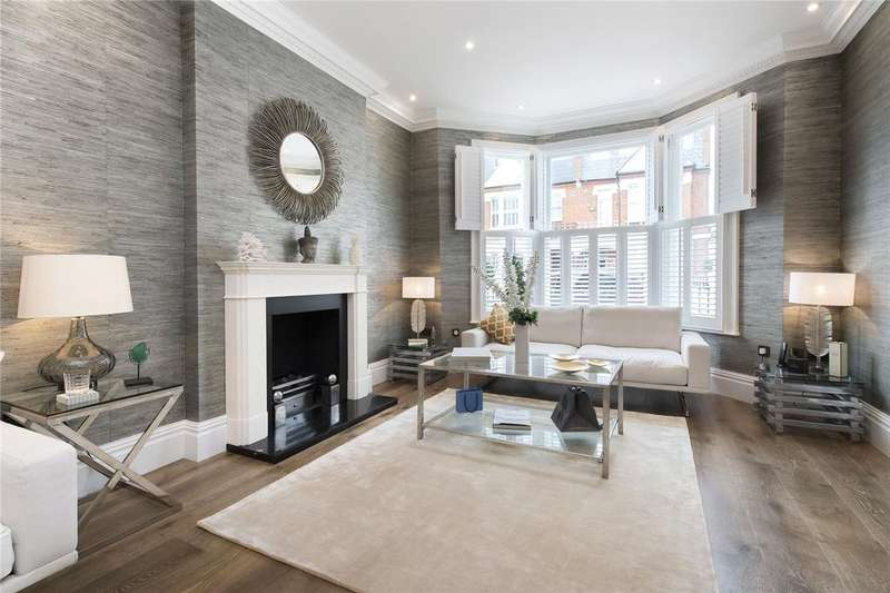 6 Bedrooms Semi Detached House for sale in Cloncurry Street, Bishops Park, Fulham, SW6