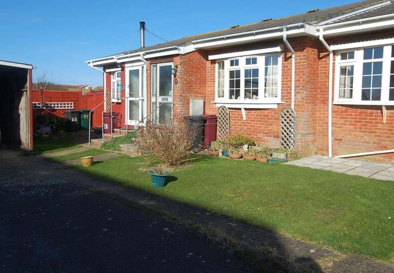 1 Bedroom Terraced Bungalow for sale in Solent Way, Selsey, Chichester PO20