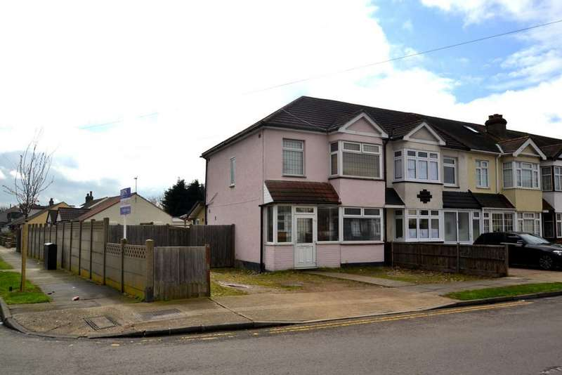 3 Bedrooms End Of Terrace House for sale in Elm Road, Mawneys, Romford