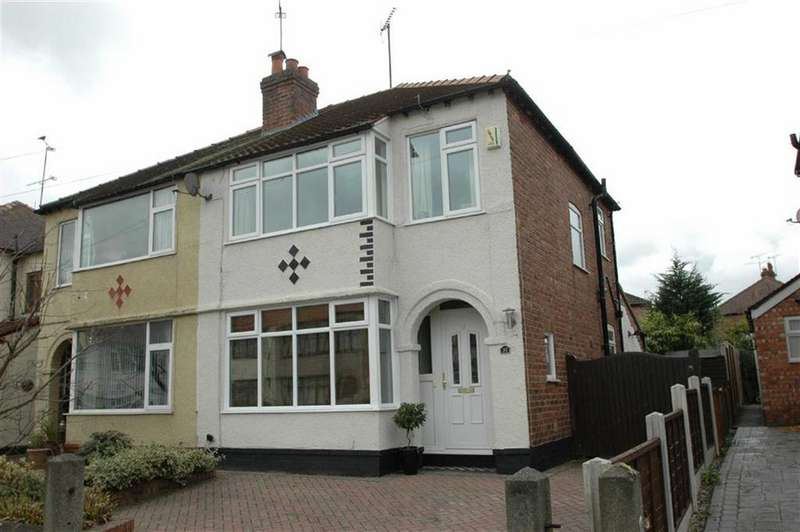3 Bedrooms Semi Detached House for sale in Upton Drive, Upton, Chester