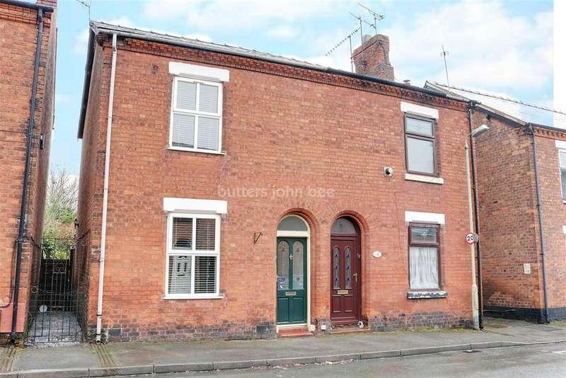 2 Bedrooms Semi Detached House for sale in Wellington Road, Castle