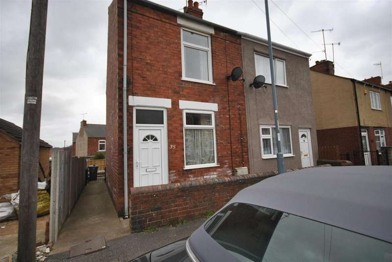 2 Bedrooms Semi Detached House for rent in Baden Powell Road, Chesterfield, S40 2SL