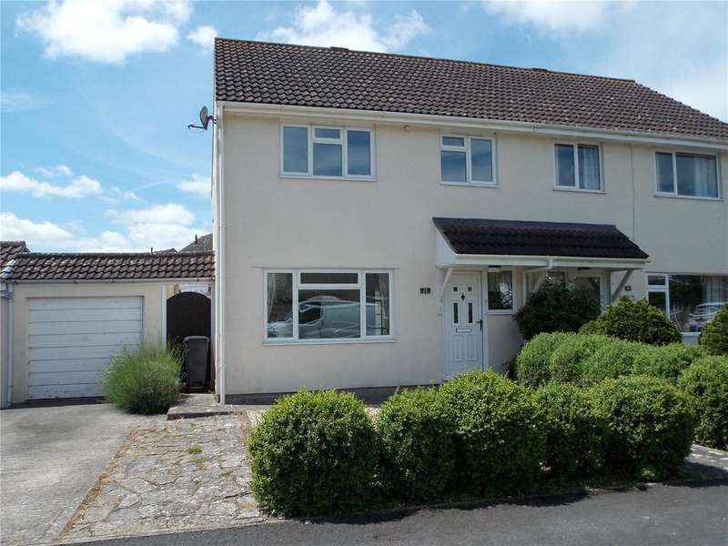 3 Bedrooms Semi Detached House for rent in Seven Acres, Somerton, Somerset, TA11
