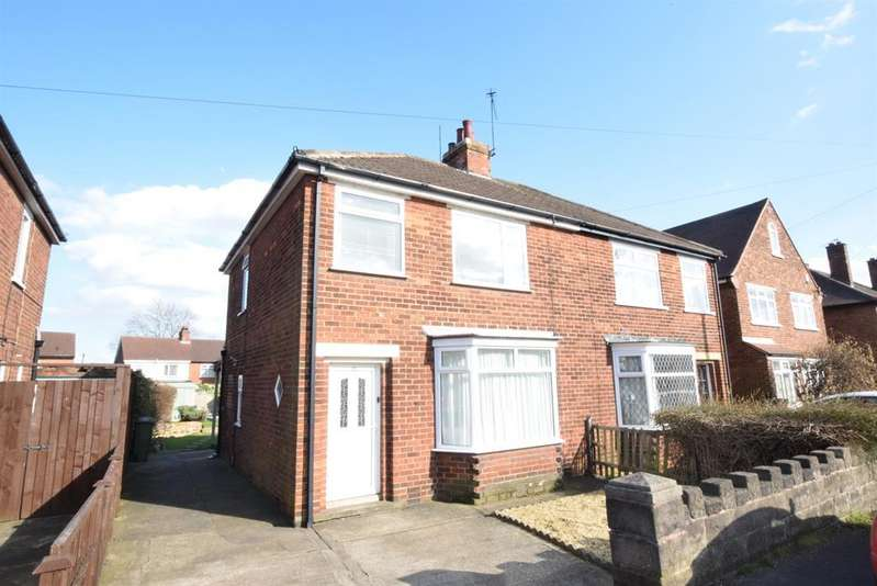 3 Bedrooms Semi Detached House for sale in Priory Crescent, Ashby, DN17 1HX