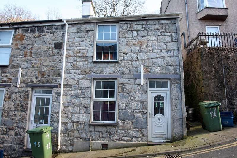 4 Bedrooms Terraced House for sale in Caellepa, Bangor, North Wales