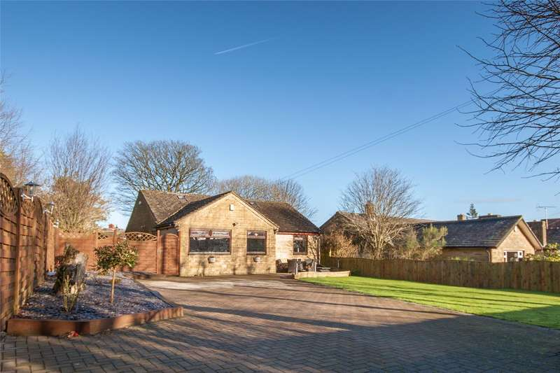 5 Bedrooms Detached Bungalow for sale in Tewit Lane, Illingworth, HALIFAX, West Yorkshire, HX2