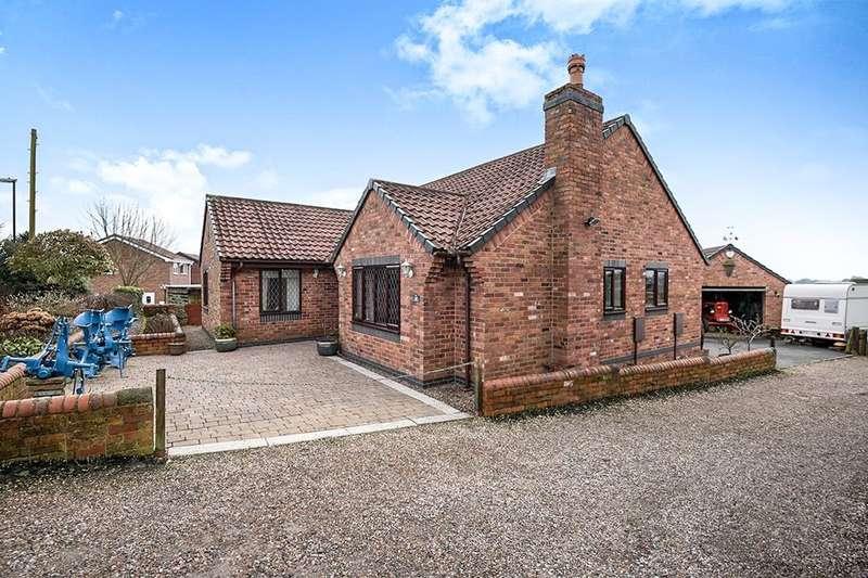 4 Bedrooms Detached Bungalow for sale in Slacks Lane, Pilsley, Chesterfield, S45