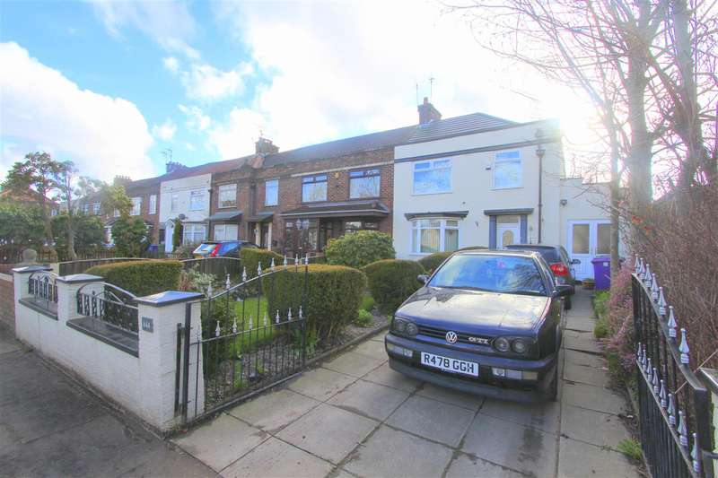 3 Bedrooms End Of Terrace House for sale in Queens Drive, Stoneycroft, Stonycroft, Liverpool