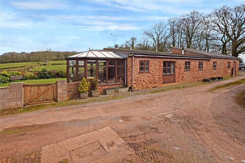 3 Bedrooms Detached Bungalow for sale in Lydeard St. Lawrence, Taunton, Somerset, TA4