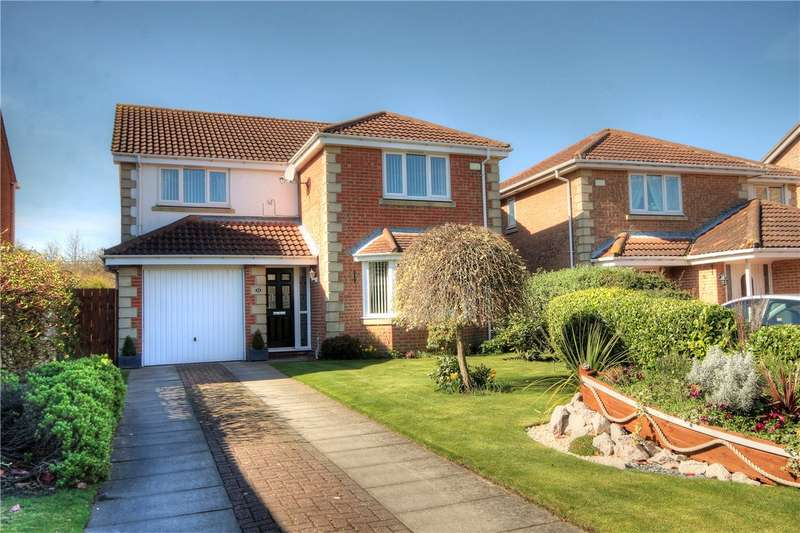 4 Bedrooms Detached House for sale in Aberwick Drive, Fellside Meadows, Chester le Street, DH2