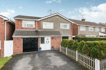 5 Bedrooms Detached House for sale in Lowerfield Road, Westminster Park, Chester, Cheshire, CH4