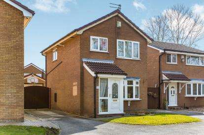 3 Bedrooms Detached House for sale in Coldstream Close, Cinnamon Brow, Warrington, Cheshire