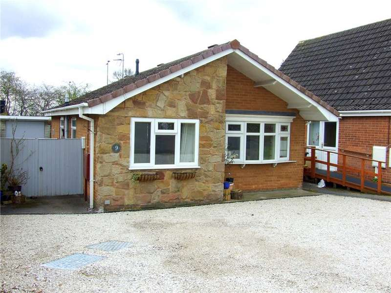2 Bedrooms Detached Bungalow for sale in Fountains Close, Allestree, Derby, Derbyshire, DE22