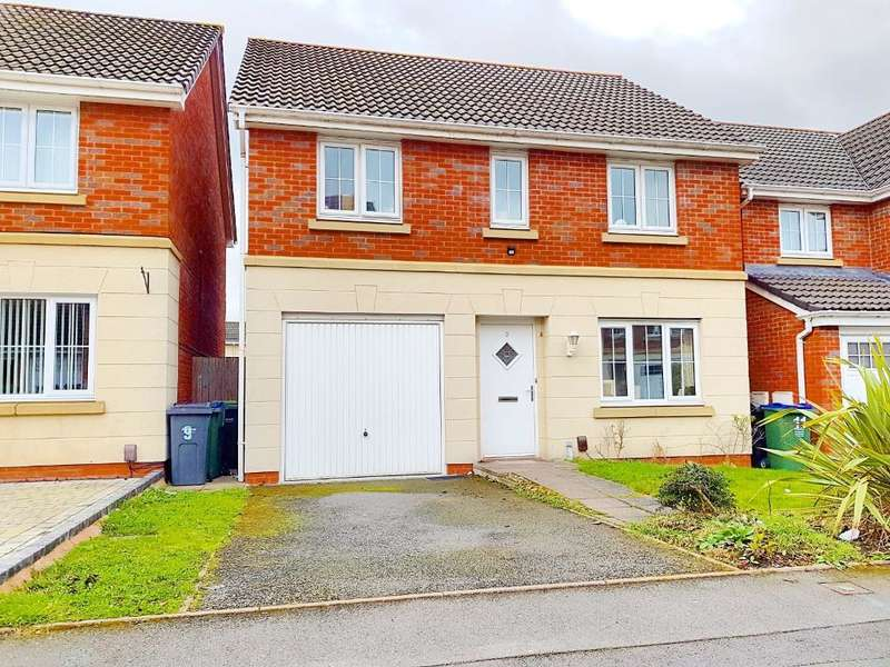 4 Bedrooms Detached House for sale in MELIA DRIVE, WEDNESBURY, WEST MIDLANDS, WS10 0QE