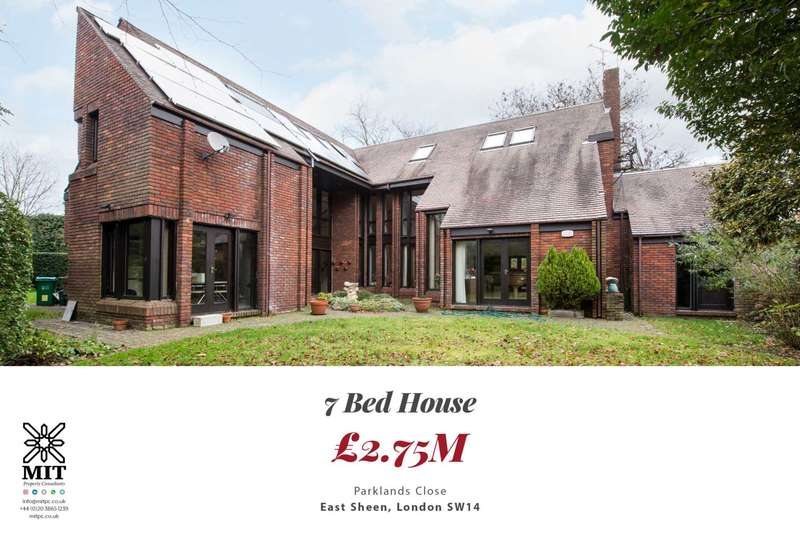 7 Bedrooms House for sale in Parklands Close, East Sheen