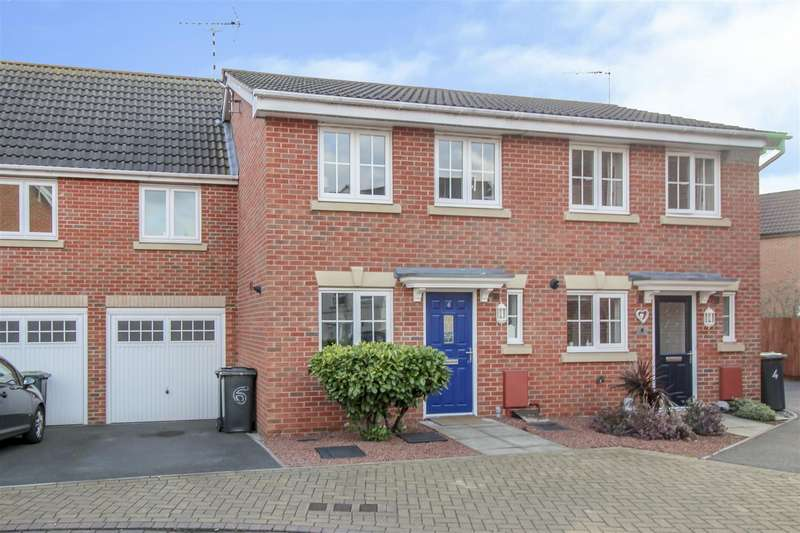 2 Bedrooms Terraced House for sale in Balshaw Way, Chilwell