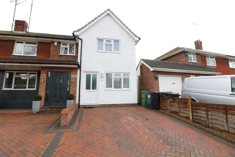 2 Bedrooms End Of Terrace House for sale in Overdown Road, Tilehurst, Reading