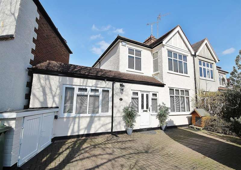 4 Bedrooms Semi Detached House for sale in Barrow Point Avenue, Pinner, HA5 3HF