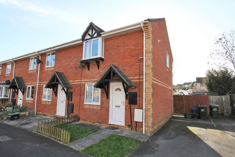 2 Bedrooms End Of Terrace House for sale in Little Close, Kingsteignton
