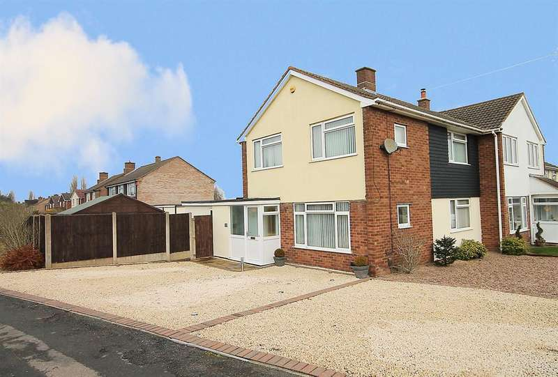 3 Bedrooms Semi Detached House for sale in Browns Lane, Tamworth, B79 8TE