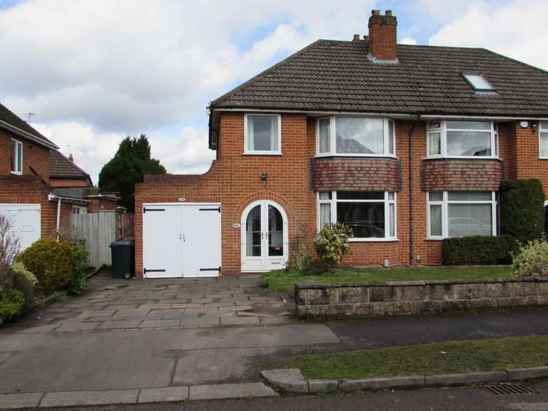 3 Bedrooms Semi Detached House for sale in St. Gerards Road, Solihull