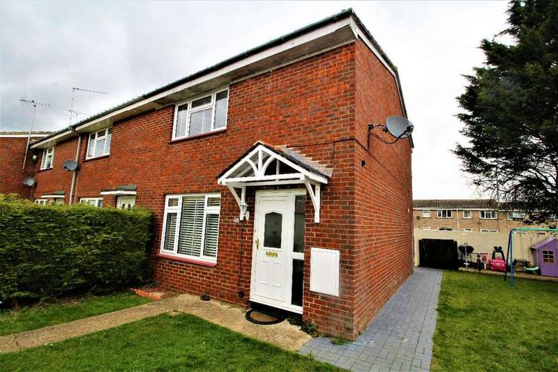 2 Bedrooms End Of Terrace House for sale in Speedwell close Witham Essex CM8 2XL