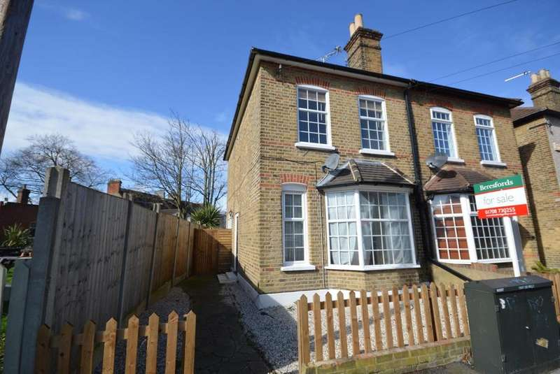 3 Bedrooms Semi Detached House for sale in Willow Street, Romford, RM7