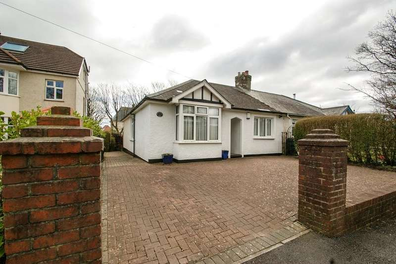 3 Bedrooms Semi Detached Bungalow for sale in Bryncerdin Road, Newton, Swansea, SA3