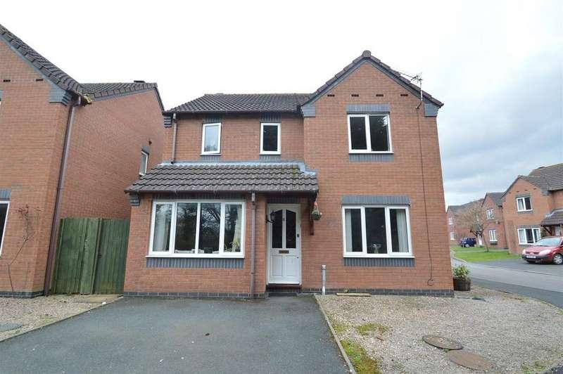3 Bedrooms Detached House for sale in 6 Alvaston Way, Monkmoor, Shrewsbury SY2 5TT