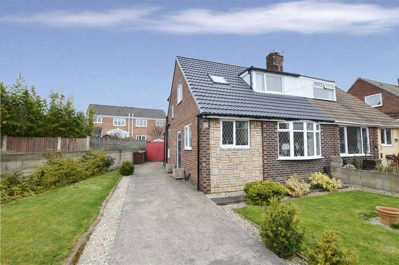 3 Bedrooms Semi Detached House for sale in Carlton View, Allerton Bywater, Castleford, West Yorkshire