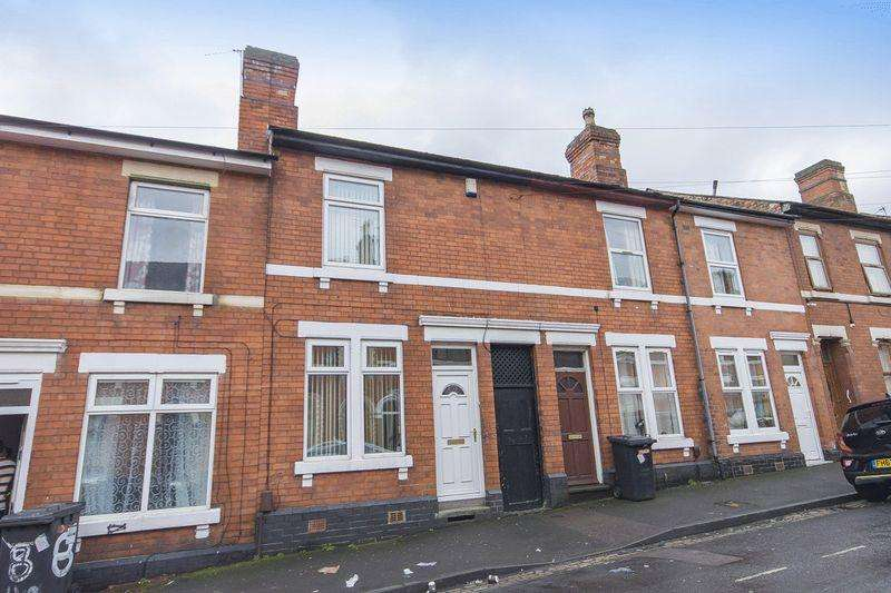 2 Bedrooms Terraced House for sale in LYNDHURST STREET, DERBY
