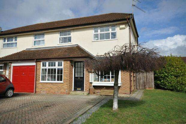 3 Bedrooms Semi Detached House for sale in Nimrod Close, Woodley, Reading,