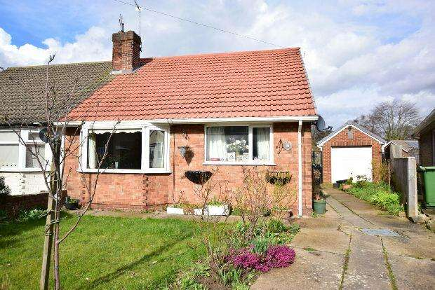 1 Bedroom Semi Detached Bungalow for sale in The Oval, Grimsby