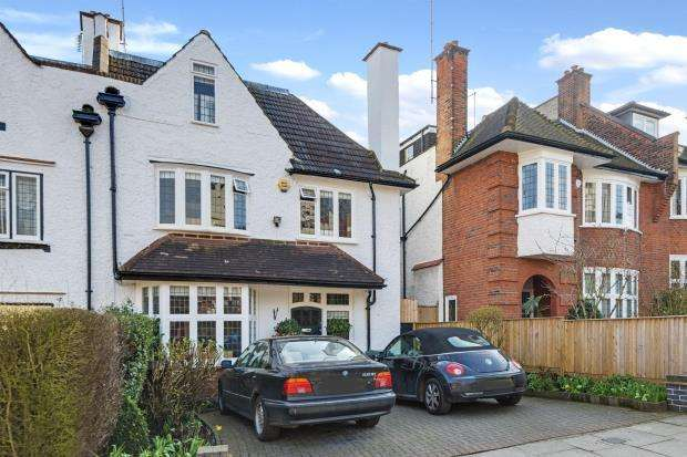 5 Bedrooms Semi Detached House for sale in Cholmeley Crescent, Highgate Village, London, N6