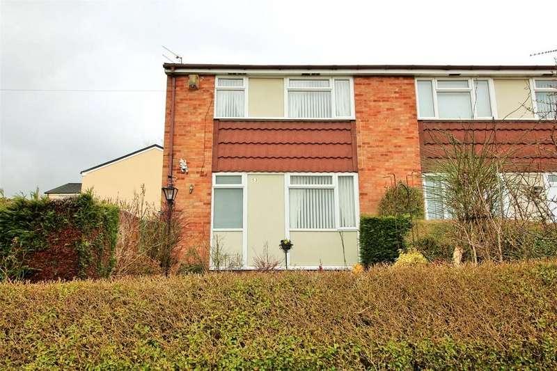 3 Bedrooms End Of Terrace House for sale in Heol Bathafarn, Coedpoeth, Wrexham, LL11