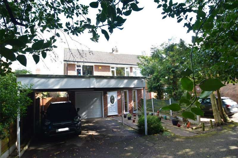 4 Bedrooms Semi Detached House for sale in Abbots Close, Sale, Cheshire