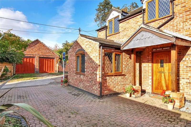 2 Bedrooms Detached House for sale in Baggrave End, Barsby, Leicester