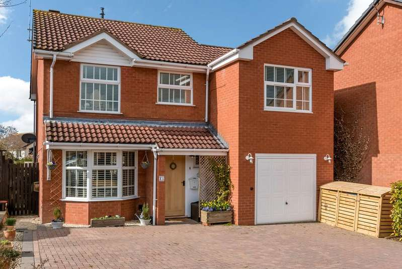 4 Bedrooms Detached House for sale in Hanson Avenue, Shipston-On-Stour