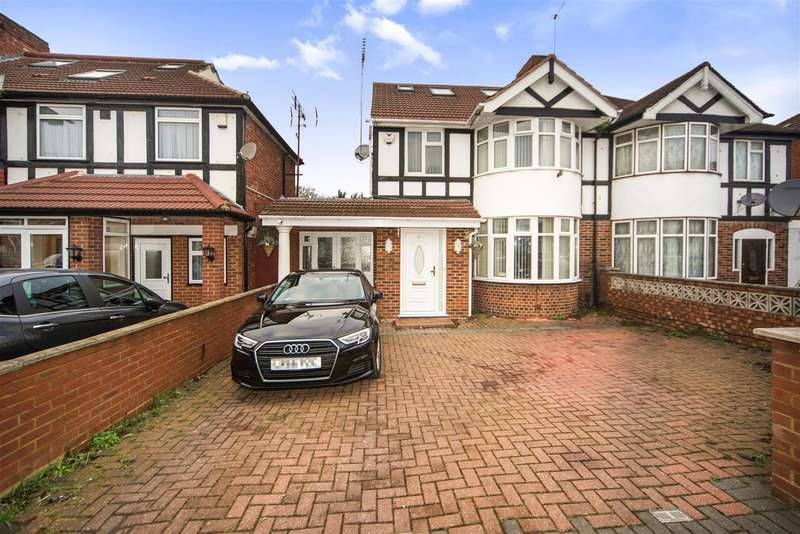 6 Bedrooms Semi Detached House for sale in Delamere Road, Hayes
